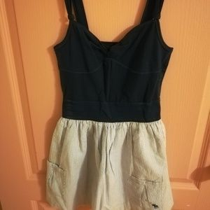 Cute Abercrombie and Fitch peplum short dress